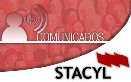 STACyL - Comunicados